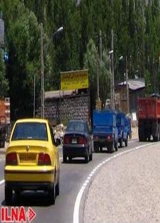ترافیک پرحجم و روان در جادههای مازندران