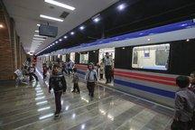 بیش از 14 میلیون نفر با مترو جابجا شدند