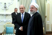 رئیسجمهور روحانی: ایران محدودیتی در توسعه مناسبات دوستانه و همکاری با فرانسه قائل نیست/ برجام امتحانی برای طرفین است و برهم خوردن آن نقطه پشیمانی همگان خواهد بود