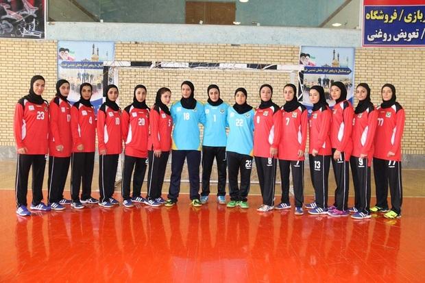 تیم هندبال بانوان شهید چمران لارستان به آسیا راه یافت