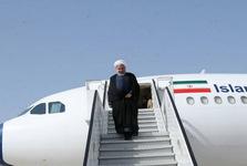 رئیس جمهور روحانی وارد نیویورک شد