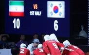شکست چشم بادامی های کره جنوبی برابر دختران کبدی ایران