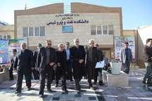 دانشکده نفت و پتروشیمی دانشگاه رازی کرمانشاه افتتاح شد