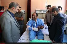 عیادت دو عضو شورایشهر پنجم از مجروحان حادثه تروریستی تهران