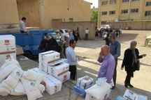 نخستین سبد حمایت تغذیه ای زنان باردار در قزوین توزیع شد
