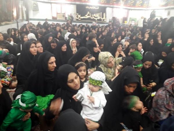 برگزاری مراسم باشکوه شیرخوارگان حسینی در هندیجان