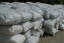10 تن کود شیمیایی قاچاق در بوئین زهرا کشف شد