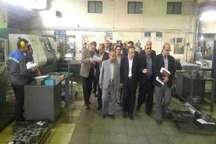 استاندار سمنان از 2 واحد صنعتی تولیدی شهرستان سمنان بازدید کرد