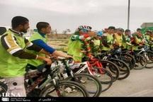 گروه دوچرخه سواری یگان ویژه ناجا وارد خراسان رضوی شد