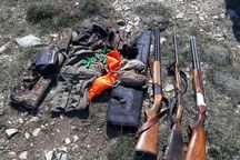 ۳۸ شکارچی غیرمجاز در استان اصفهان دستگیر شدند