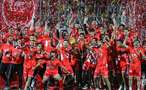 تمام عکس ها و فیلم های جشن قهرمانی پرسپولیس در لیگ برتر هجدهم