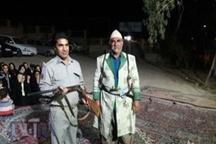 شکارچی قدیمی پلدختری با تحویل اسلحه شکاری خود همیار محیط زیست شد