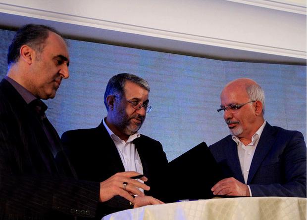 امضای تفاهمنامه سه جانبه بین دادگستری، خانه صمت و کانون داوری یزد