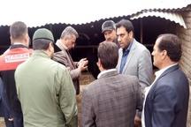 تحویل کلید مسکن به 8 مددجوی آبیکی  اشتغالزایی برای 350 روستایی