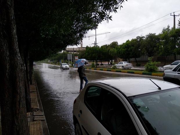 84 و 5 دهم میلی متر باران در بندرخمیر بارید