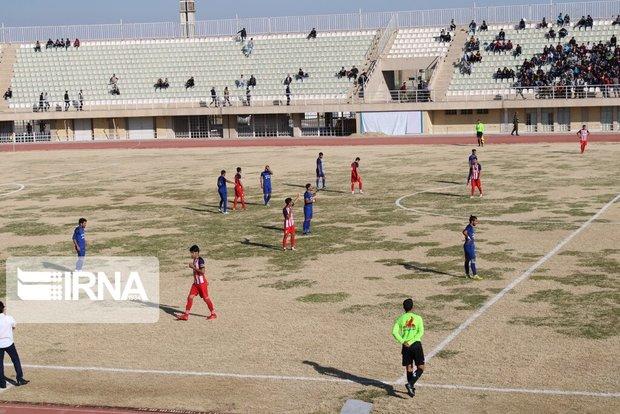 پیروزی تیم فوتبال سردارجنگل در لیگ برتر بزرگسالان گیلان