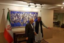 ظریف با وزیرخارجه پاکستان دیدار کرد