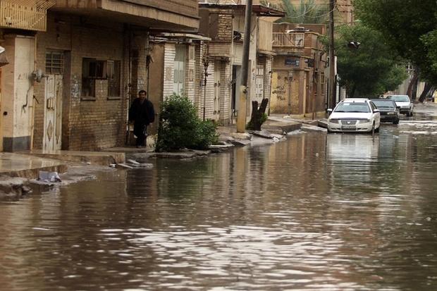 بارش 6 میلیمتری باران بار دیگر شهروندان اهواز را غافلکیر کرد