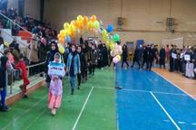 هزار و 500 یزدی در المپیاد ورزشی شرکت می کنند