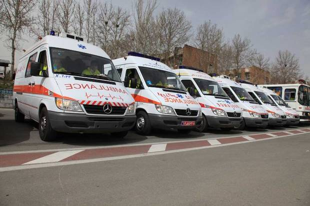 پنج دستگاه آمبولانس پیشرفته به ناوگان اورژانس کردستان اضافه شد