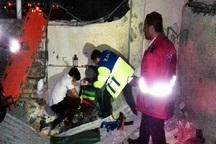 انفجار مواد آتش زا در کاشان پنج آسیب دیده برجا گذاشت