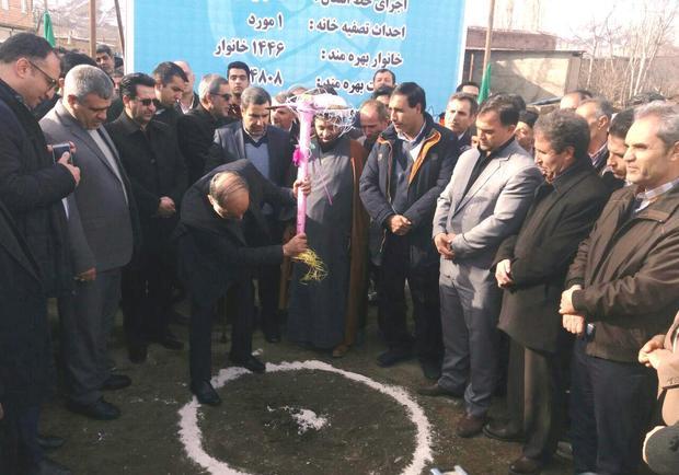 افتتاح 10 طرح عمران روستایی در خوی