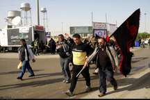پیاده روی مرزداران دهلرانی به یاد شهید دشت نینوا