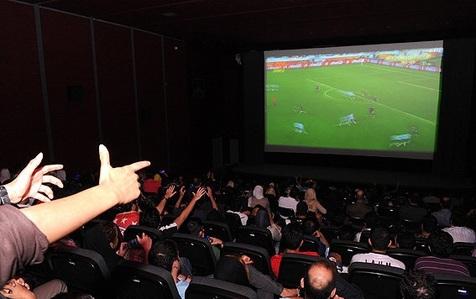 پخش دیدار تیم ملی در فینال جام ملتها در جریان جشنواره فجر