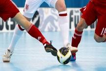 نتایج هفته ششم تیم های فارس در فوتسال دسته یک مشخص شد