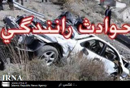 برجای ماندن پنج مصدوم در دو حادثه تصادف در خوزستان