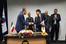 عقد تفاهم نامه همکاری بین سه واحد تولیدی قزوین با شرکت های کره جنوبی