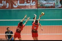 پیروزی تیم والیبال شهرداری جوان ارومیه مقابل صنایع اردکان