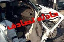 دو کشته در سانحه رانندگی در محور قدیم ساوه- همدان