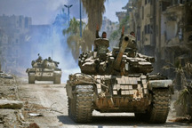 آزادی منطقه استراتژیک حجر الاسود در نزدیکی دمشق/ توافق ایران،روسیه و ترکیه بر سر برگزاری مذاکرات بعدی سوریه در سوچی