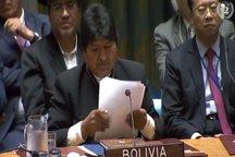 رییسجمهور بولیوی: آمریکا در سال 1953 در ایران کودتا کرد و به هیچ عنوان دنبال مذاکره با کشورها نیست
