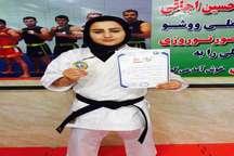 دانش آموز البرزی قهرمان مسابقات ووشو کشور شد