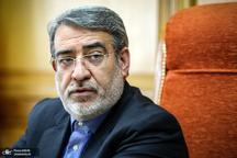 وزیر کشور: مسئولان استانهای در معرض سیل به مرخصی نروند
