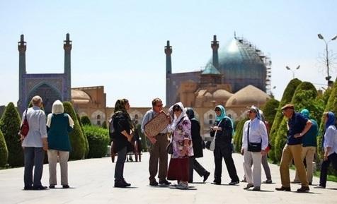 ۸۳ هزار گردشگر خارجی در اصفهان