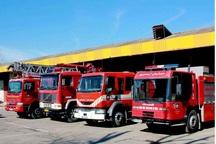 آتش نشانی کرج تیم امدادی به مناطق سیل زده اعزام کرد
