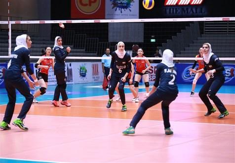 پیروزی تیم ملی والیبال بانوان مقابل قزاقستان