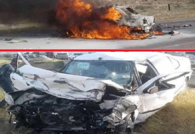 تصادف در جاده فراشبند - جم 7 کشته داشت