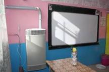 7 مدرسه روستایی «خواجه» مجهز به بخاری گازی هوشمند شدند