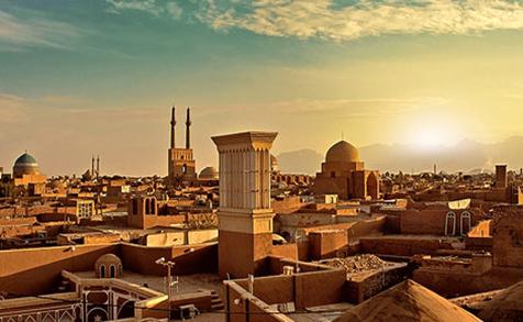 طوفان شن یزد را با خود برد! / عکس و فیلم