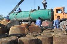 پنج هزار لیتر سوخت قاچاق در نهبندان کشف شد