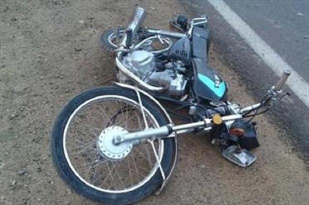 راکب موتورسوار در بهمئی جان باخت