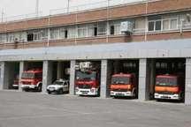 بهره برداری از 7 ایستگاه آتش نشانی در مناطق مختلف شهر تهران آغاز شد