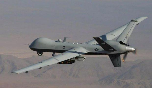 انصار الله یمن یک پهپاد پیشرفته آمریکایی را در آسمان صنعا سرنگون کرد