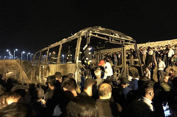 استاندار قزوین سانحه دلخراش تصادف در سنندج را تسلیت گفت