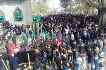 آئین علم واچینی در آستانه اشرفیه برگزار شد