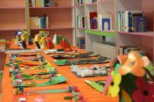 نمایشگاه آثار ادبی و هنری کودکان و نوجوانان سنندج گشایش یافت